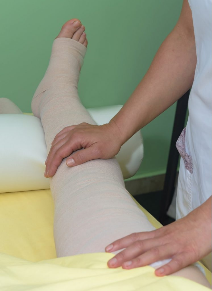 Multi Layer Compression Bandaging